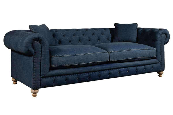 "Sofa Armstrong ""Quick Ship"" Tufted Chesterfield Sofa"