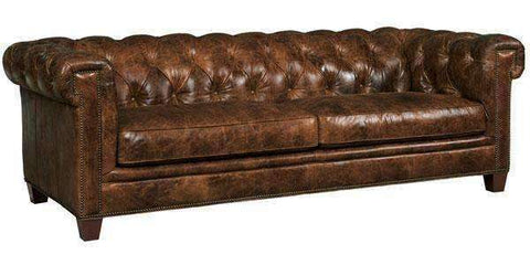 "Sofa Damien ""Quick Ship"" Tufted Chesterfield Style Sofa"