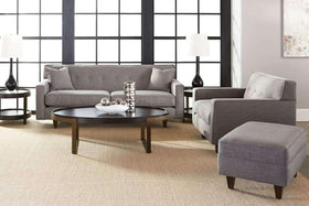 "Sofa Margo Collection - Margo ""Quick Ship"" 3-Piece Sofa, Chair, Ottoman Set"