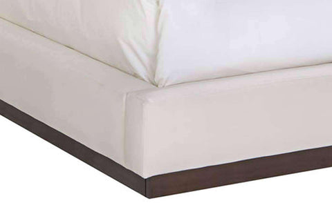 Upholstered Bed Stockbridge Twin, Full, Queen, King, California King Modern Fabric Blind Tufted Platform Bed