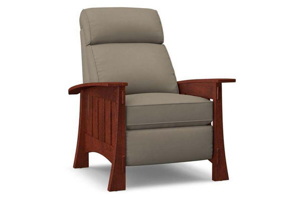 Stockton Mission Style Fabric Recliner
