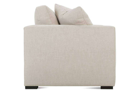 Tamra II 88 Inch Fabric Upholstered 2 Cushion Wing Arm Sofa
