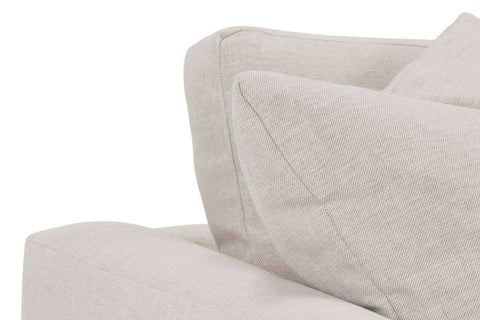 Tamra II 94 Inch Fabric Upholstered Large 2 Cushion Wing Arm Sofa