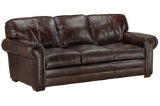 "Tanner 88 Inch ""Designer Style"" Rolled Arm Queen Pull Out Sleeper Sofa"