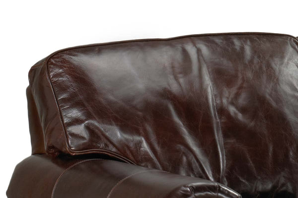 Tanner Pillow Back Leather Sofa Or Sleeper Sofa