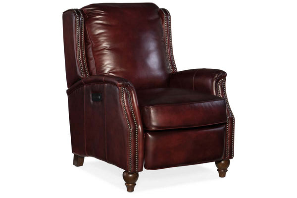 "Tilden Dual Power ""Quick Ship"" Leather Recliner"