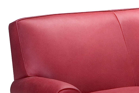 "Tyler ""Designer Style"" Leather Loveseat"