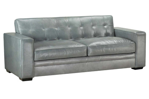 Uptown Biscuit Back Modern Track Arm Sofa Or Sleeper Sofa