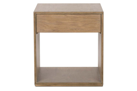 Vaughn Transitional Light Wood Occasional Table Collection