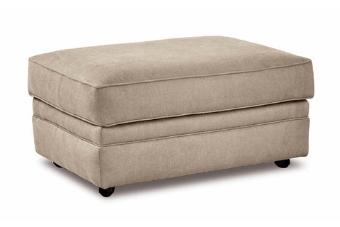 "Warren ""Custom Value"" Fabric Living Room Footstool Ottoman"