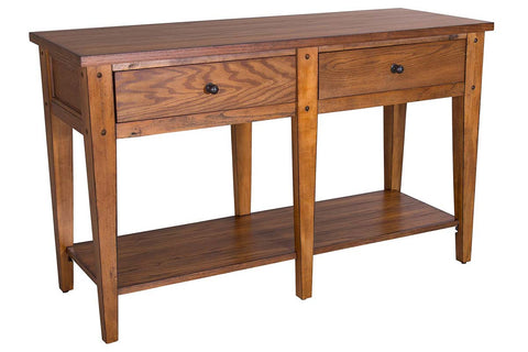 Warrington Golden Oak Occasional Table Collection
