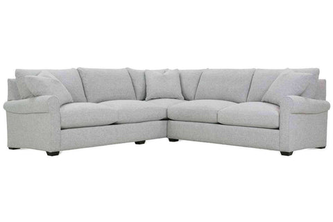 "Winona ""Designer Style"" Grand Scale Ultra Plush Sectional"