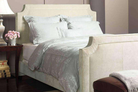 Upholstered Bed Winslow Fabric Upholstered Platform Bed With Scalloped Edges