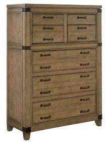 Wood Bedroom Furniture Chandler 7 Drawer Chest