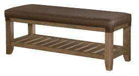 Wood Bedroom Furniture Chandler Bench