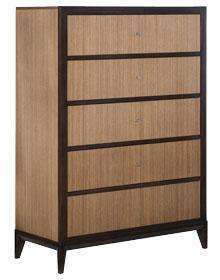 Wood Bedroom Furniture Corbett 5 Drawer Chest