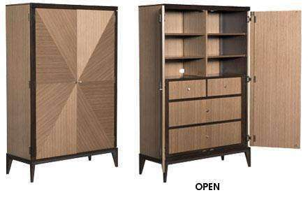 Wood Bedroom Furniture Corbett Door Chest