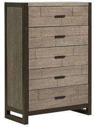 Wood Bedroom Furniture Dorsey 5 Drawer Chest