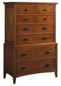 Wood Bedroom Furniture Lancaster Modern Shaker Wood Chest