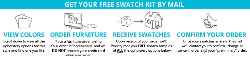 get your FREE swatch kit by mail