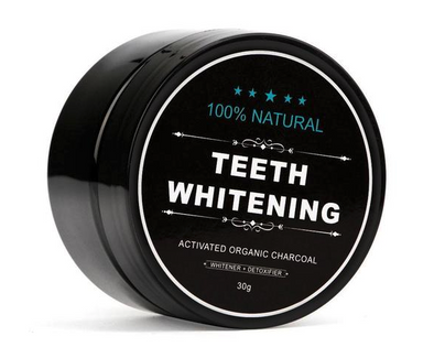 Charcoal Teeth Whitening Powder + Escova de Dente