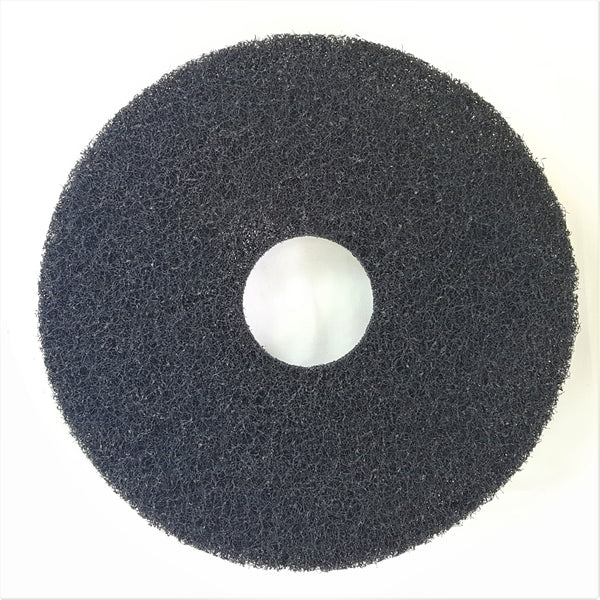 "NYLON FLOOR PADS THICK LARGE 16"" & 17"" DIAMETER DISCS"