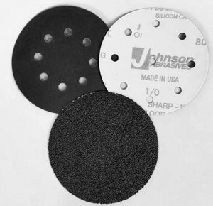 "SHARP-KUT™ HOOK & LOOP SANDING DISCS - 5"" & 6"""