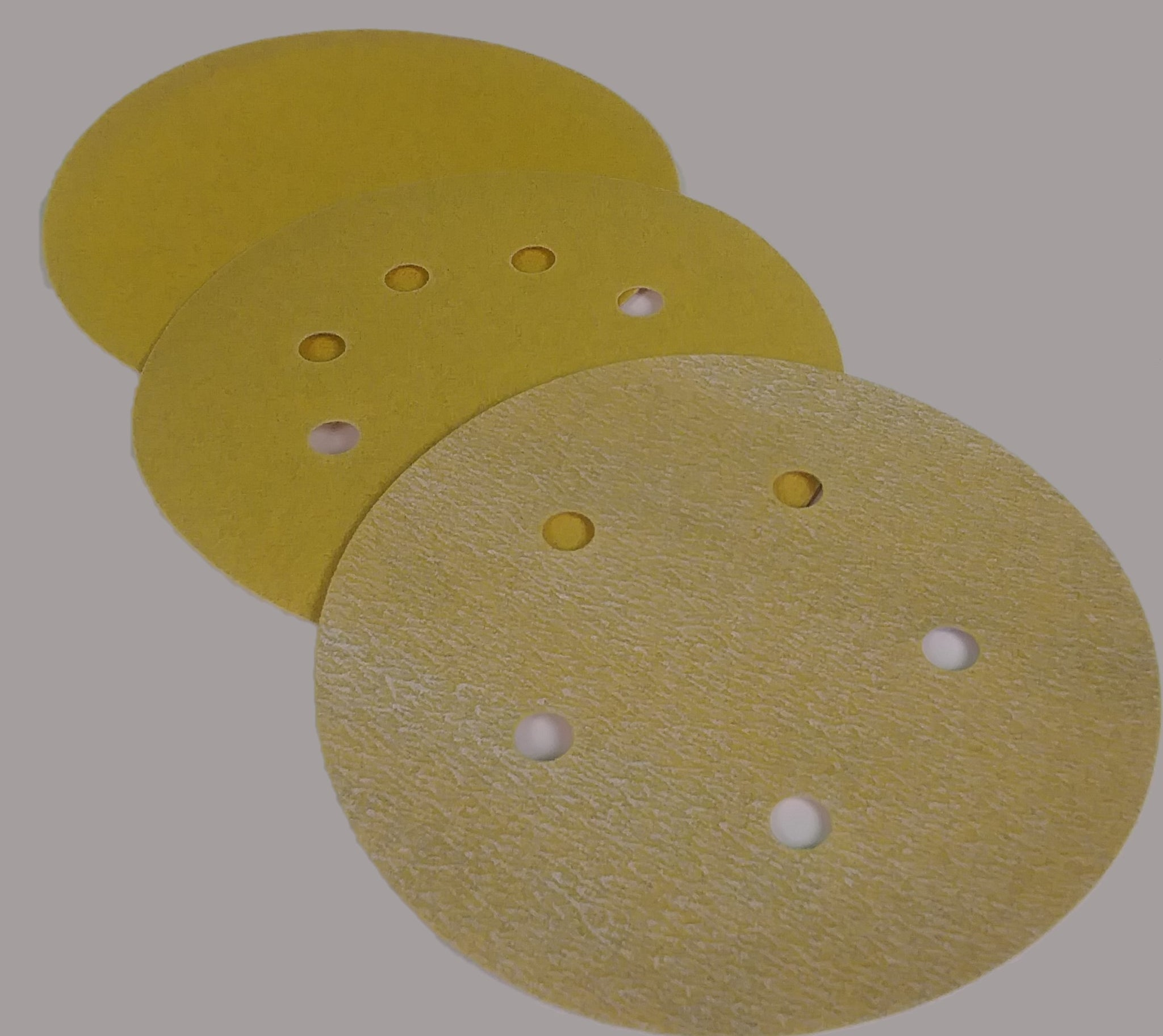 *OVERSTOCK* GOLD HOOK & LOOP SANDING DISCS 5""