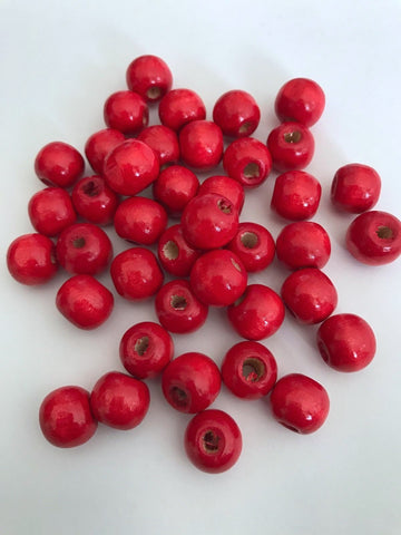 il red for bead listing seed jewelry layering making necklace beads beaded ruby