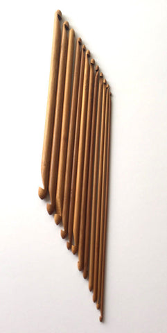 Brand New 12 pcs Double End Ended Tunisian Carbonize Crochet Hook! Sizes 3.0 to 10.0mm crochet hooks supplies tools