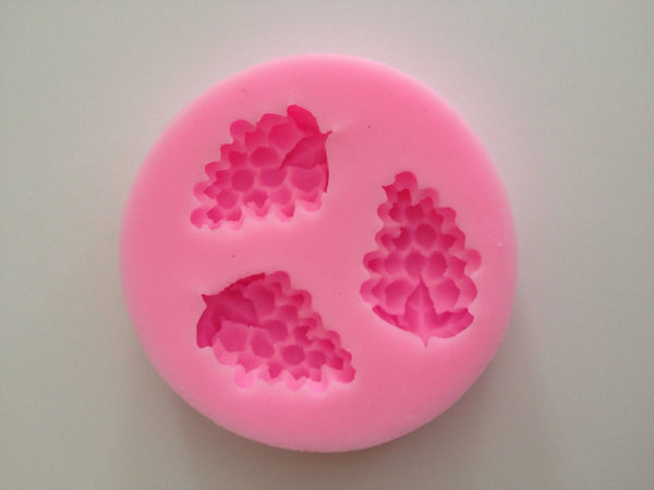 New Grape Soft Silicone Mold Fondant grapes Mat Cake Decorating Cupcake Wedding Cookie Cupcake Candy Chocolate Baking Tools Supplies
