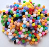 1000 pcs colorful pompom balls pom pom balls
