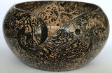 High Quality Yarn Bowl Wooden Handmade Marble Finish