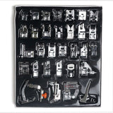 32 pcs Universal Sewing Machine Foot Feet Presser Kit Set Janome Singer Accessory Parts