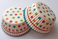 50 count Sweet Polka Dot Cupcake Liners