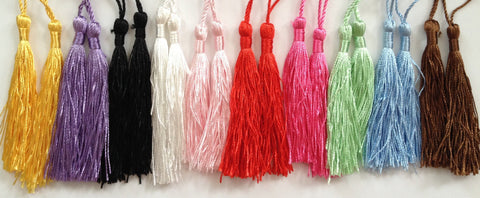 "10 pcs 3 1/2"" Tassel Fringe Drapery Trimmings"
