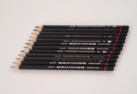 12 pcs High Quality Graphite Pencils