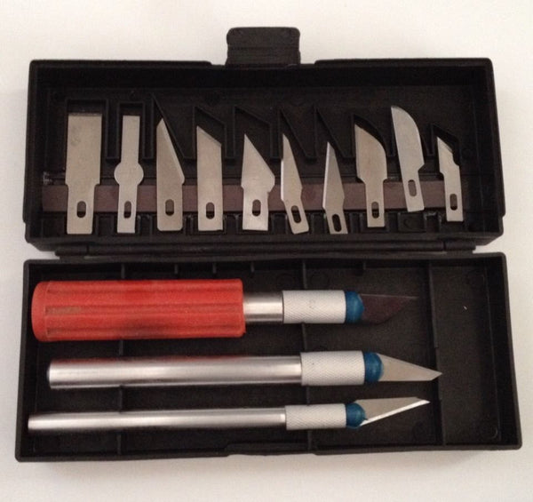 13 pcs Hobby Knives Tool Set Multifunction Case for your crafts