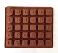 New Alphabet Blocks Cake Chocolate Silicone Mold -Unbranded