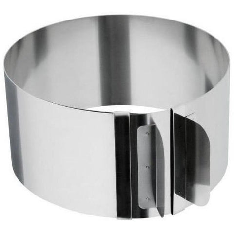 "High Quality Adjustable Cake Ring 6""-12"" Adjustable Round Stainless Steel Cake Ring Bakeware Tool Mousse Mold decorating baking"