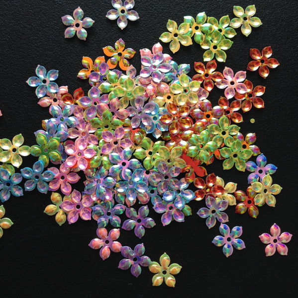 100 pcs Flower Sequins Embellishments