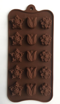 Beautiful Tulips Flowers chocolate mold-Unbranded