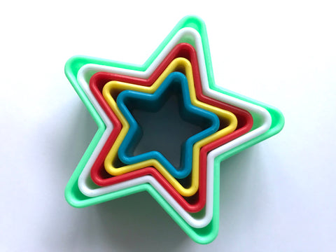 5 pcs Star Cookie Cutter
