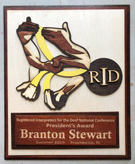 RID Award with its Conference Logo