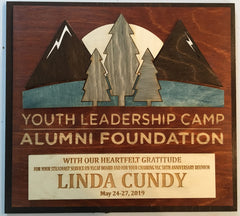 YLC Award with its Reunion Logo