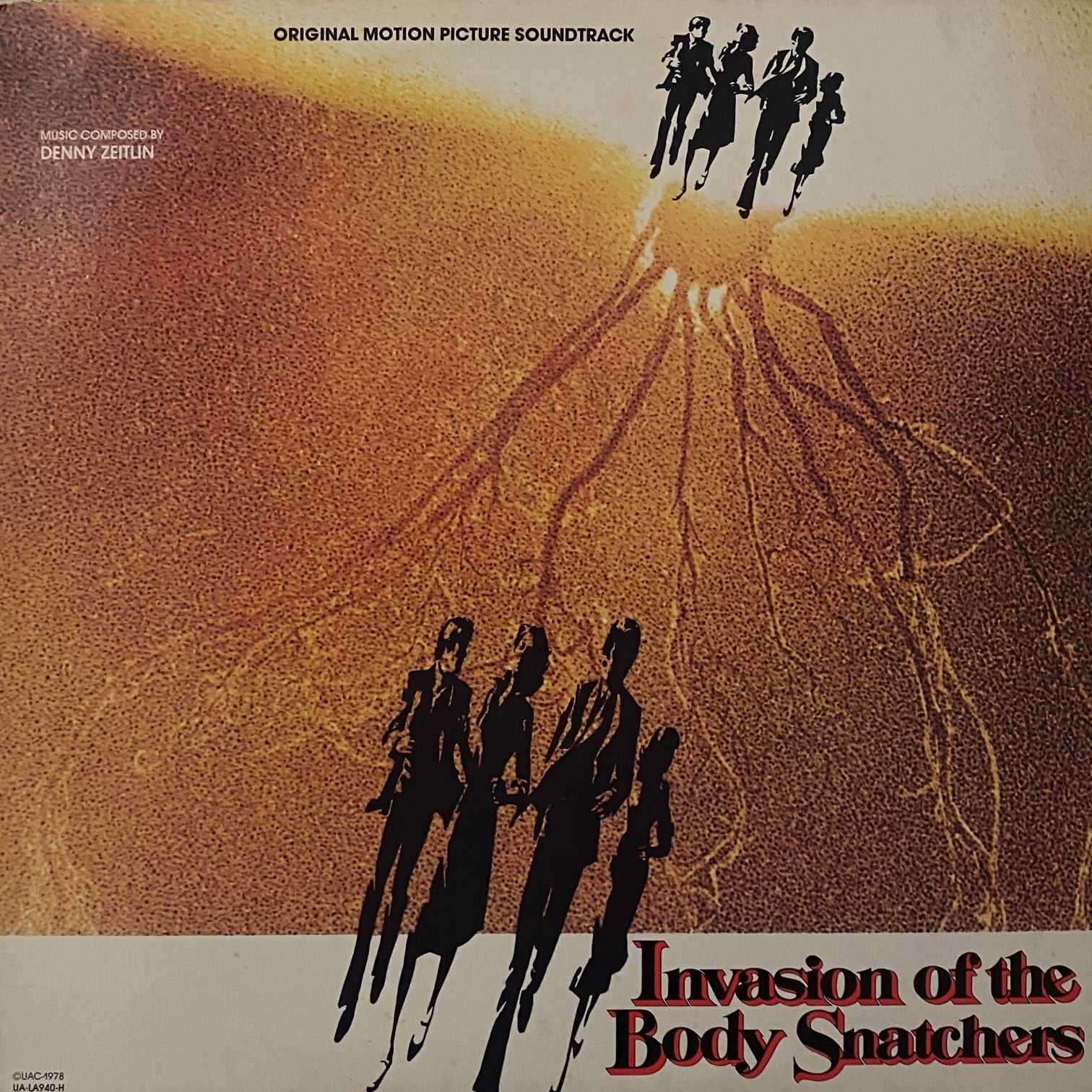 Denny Zeitlin ‎– Invasion Of The Body Snatchers (Original Motion Picture Soundtrack)