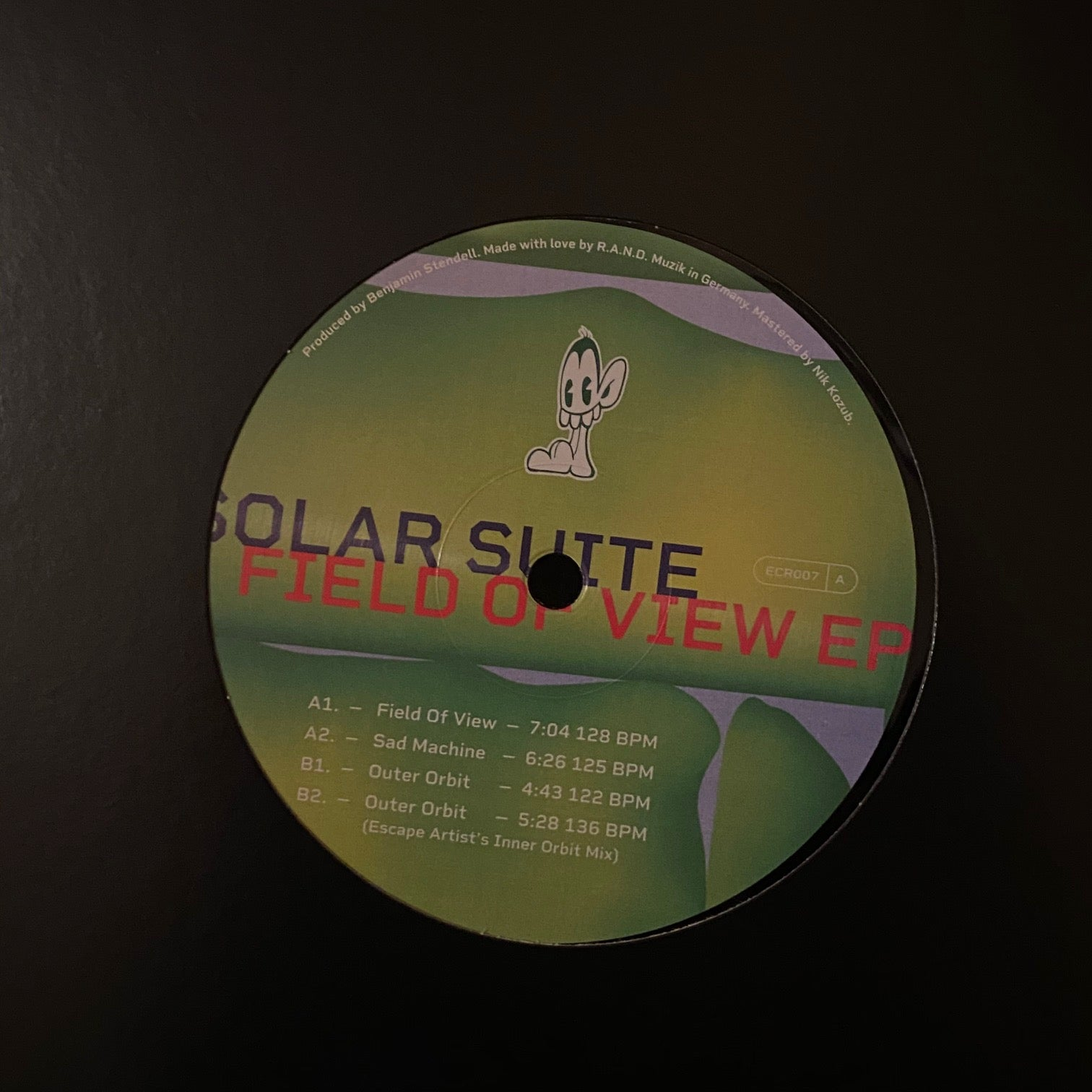 Solar Suite ‎– Field Of View EP