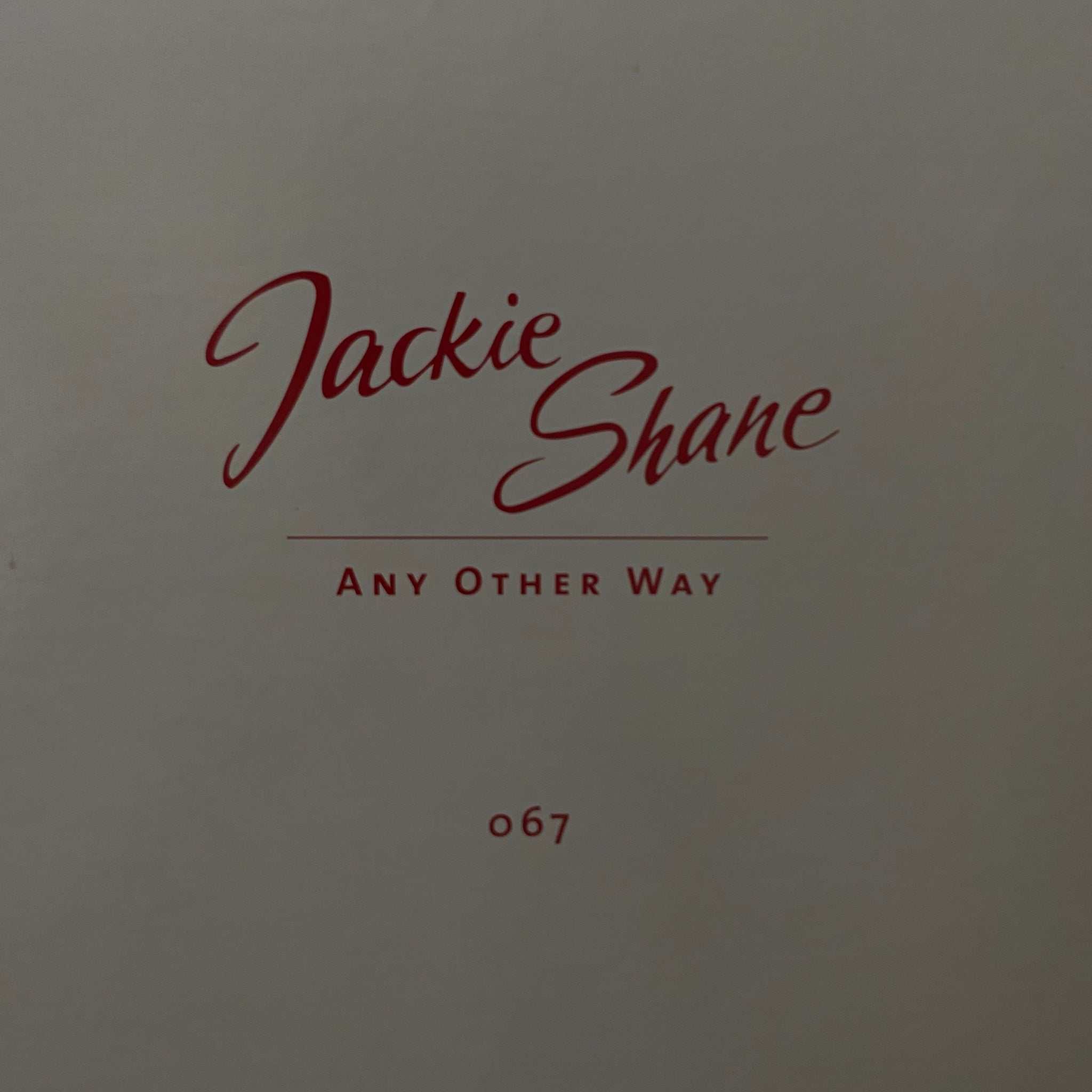 Jackie Shane ‎– Any Other Way