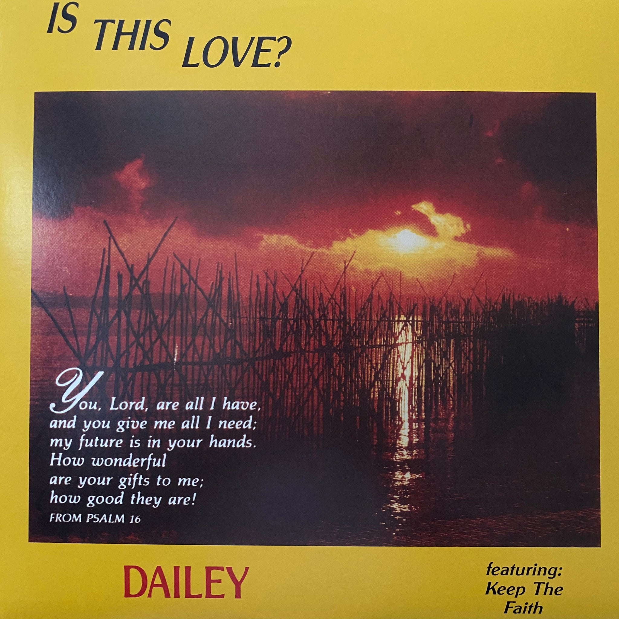 Dailey ‎– Is This Love?