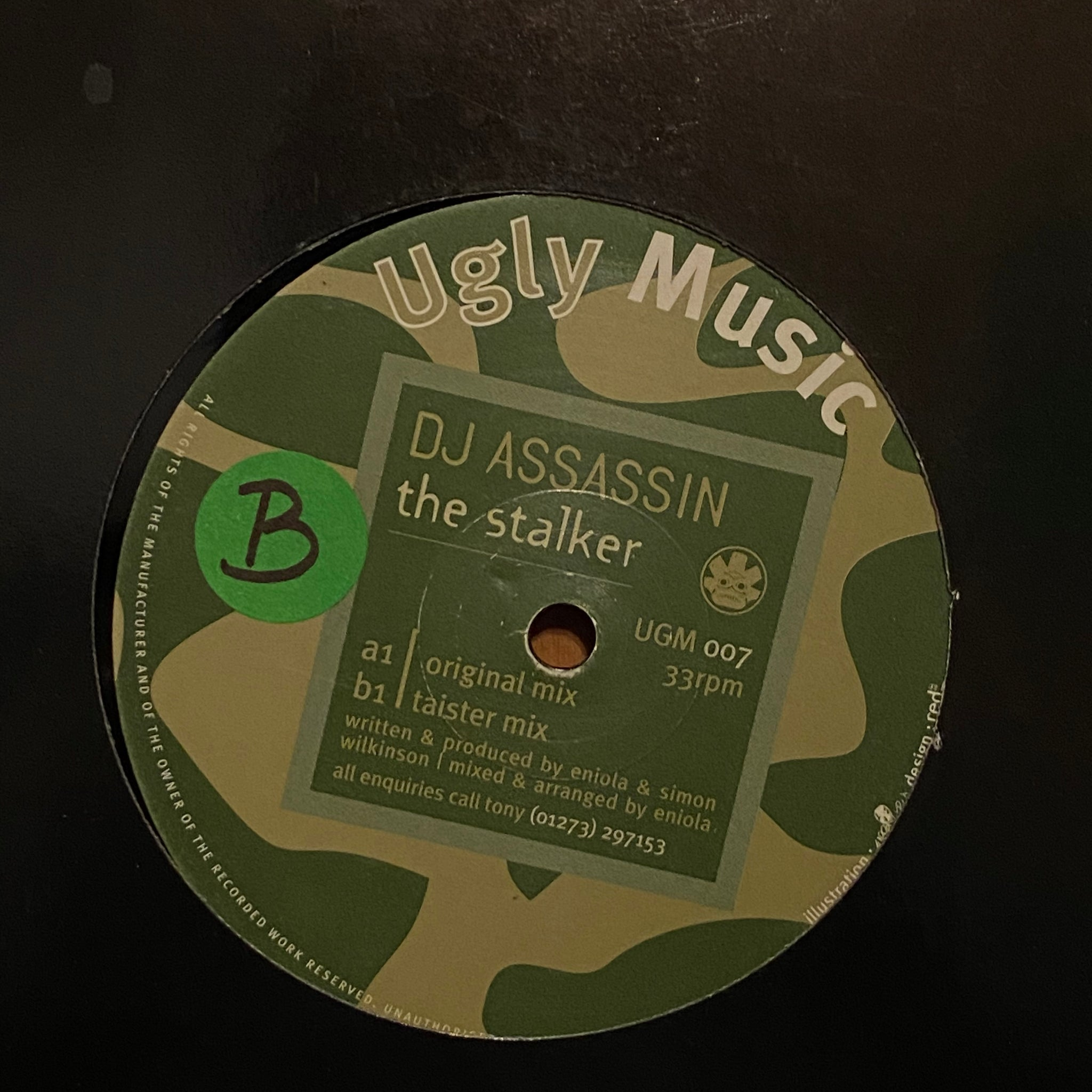 DJ Assassin ‎– The Stalker